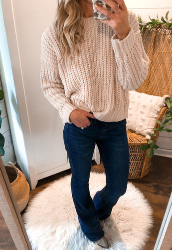 Shelly Oatmeal Sweater
