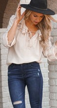Load image into Gallery viewer, Hillary Blouse-Cream