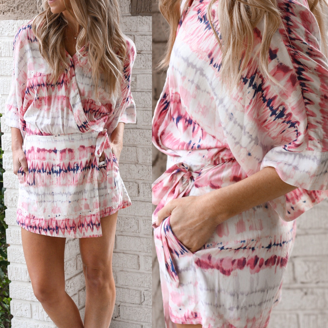 Faith TieDye Romper