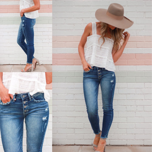 Ashley Mid-Rise Denim