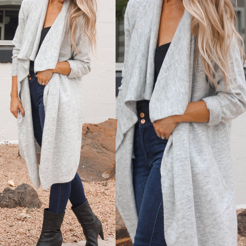 Grayden Grey Cardigan