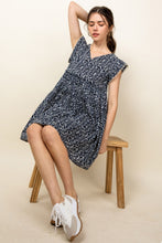 Load image into Gallery viewer, Abigail Navy Dress