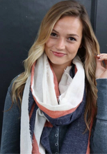 Load image into Gallery viewer, Courtney Stripe Scarf