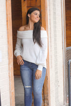 Load image into Gallery viewer, Fran Off Shoulder Sweater