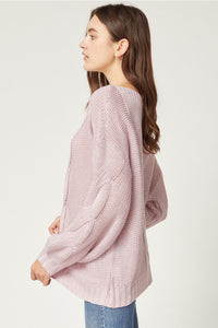 Camden Cable Knit Sweater