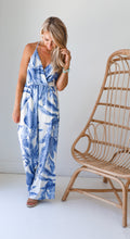 Load image into Gallery viewer, Halley Blue Jumpsuit