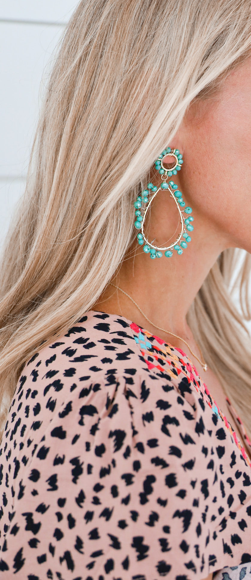 Corrine Turquoise Earrings