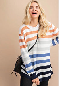 Lindsey Stripes Sweater