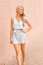 Load image into Gallery viewer, Stormy Blue Romper