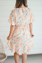 Load image into Gallery viewer, Blush Flutter Sleeve Dress