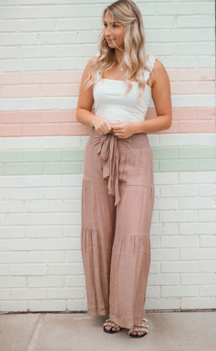 Chelsea Taupe Pants