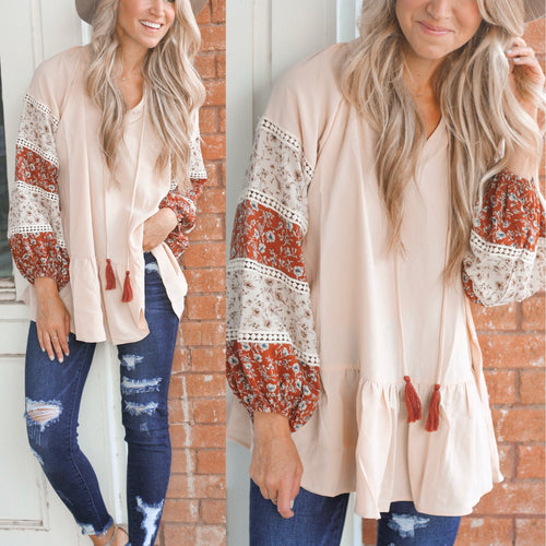 Hazel Long Sleeve Blouse