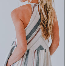 Load image into Gallery viewer, Striped Woven Dress