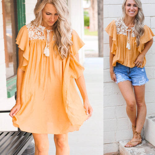 Honey Yolk Tunic