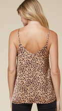 Load image into Gallery viewer, Leopard Cami-Camel
