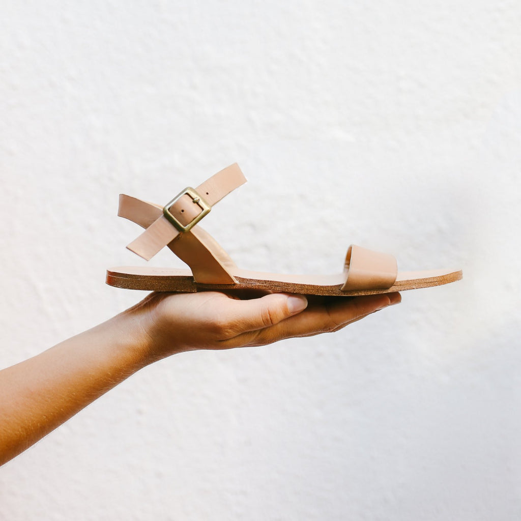 The Simple Sandal in Nude