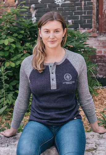 Women's Long Sleeve Henley Shirt
