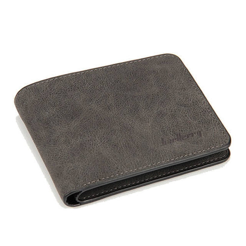 Slim worn leather wallet. Available in 3 unique color