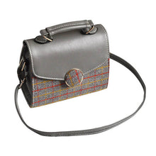 Load image into Gallery viewer, This chic small vintage-inspired handbag can class up any outfit. Can be worn as cross-body, traditional shoulder bag, or simply in your hand.
