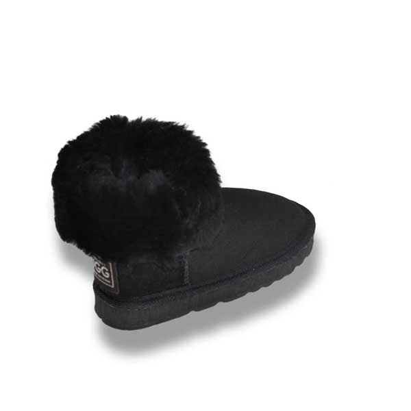 Kids Short Uggs - Black