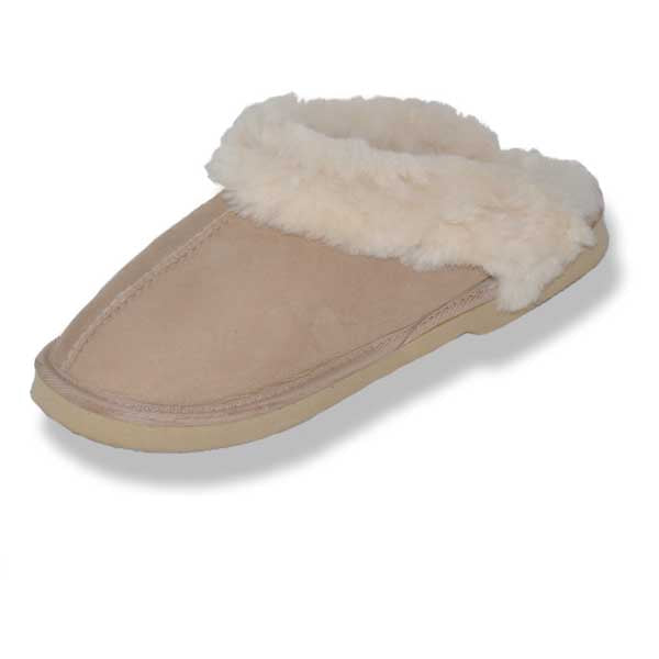Womens Clogs - Beige
