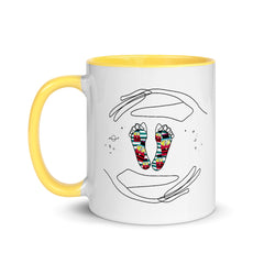 Designer Series: ROYA SO ARTSY and Friends Mother's Day, Mug with Color Inside