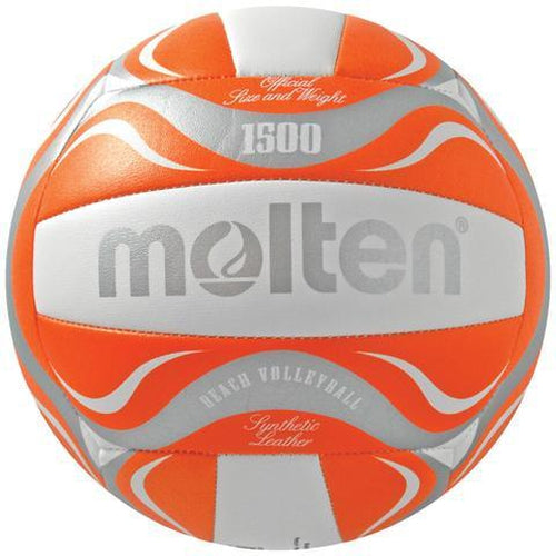 Molten - BV1500 Beach Volleyball - Orange - Sports Grade