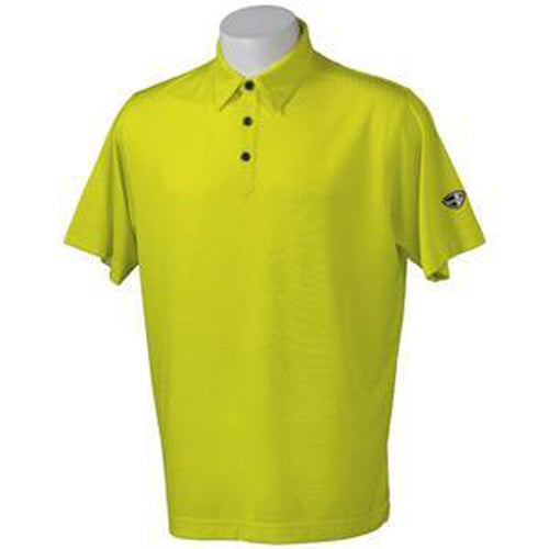 Crest Link Men's Golf Polo – 80-1163 Yellow - Sports Grade