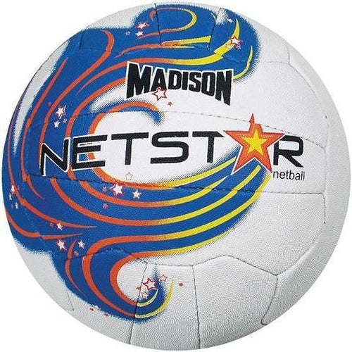 Madison Netstar Netball - Blue Size 5 - Sports Grade