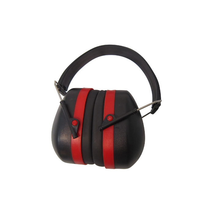 Alliance Ear Muffs Red/black - Sports Grade