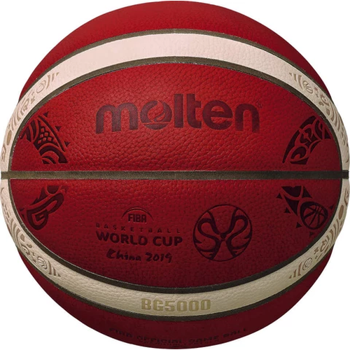 Molten - BG5000 Series Basketball - 2019 Fiba World Cup Official Game Ball - Sports Grade