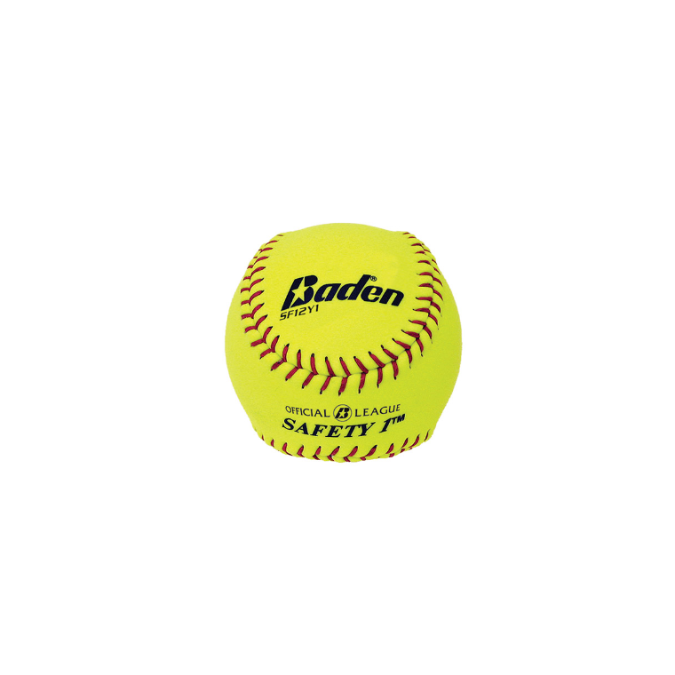 "Baden Softball Safety 12"" Yellow - Sports Grade"