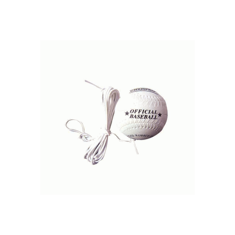 "Champro Teeball 9"" Rubber - Tether - Sports Grade"