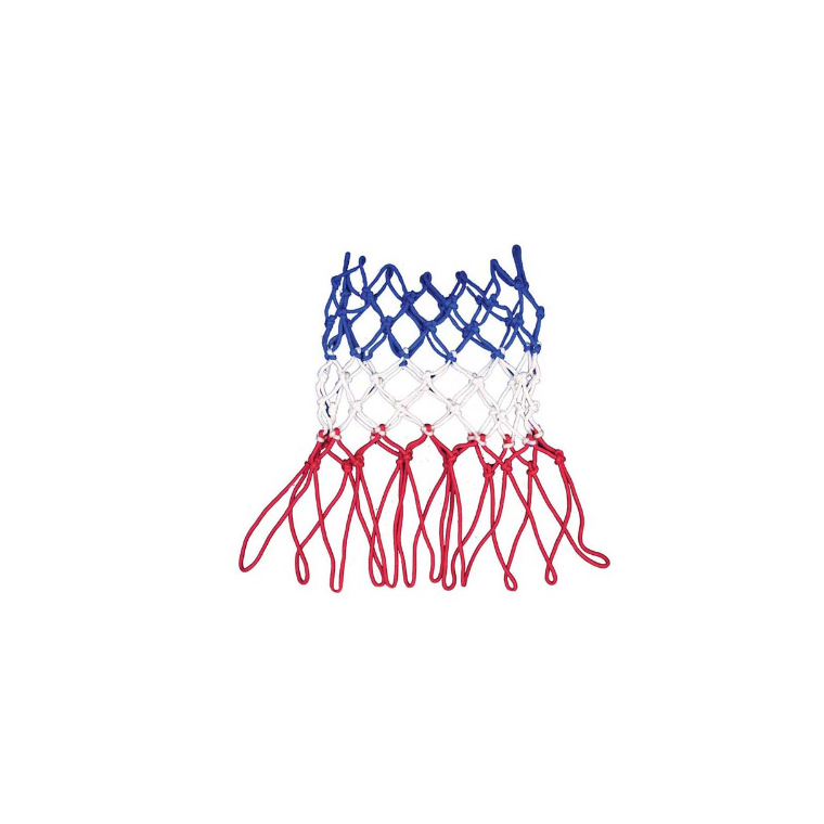 Super K Basketball Net Heavy Duty Tri-colour - Red/ White/ Blue - Sports Grade