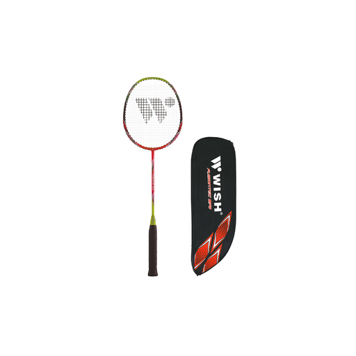 Wish Badminton Racquet - Fusiontec 970 - Sports Grade