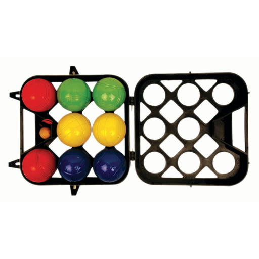 Alliance Boule Set Coloured Metal - In Case - Sports Grade