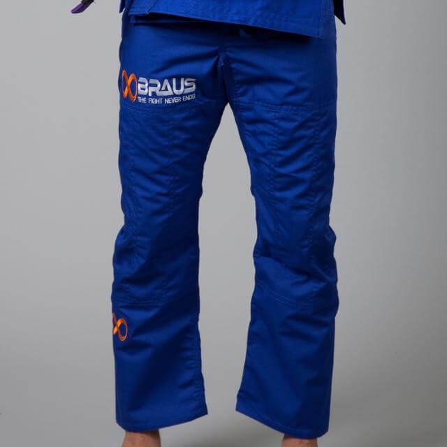 Braus Fight - Blue Jiu Jitsu Pants – Ripstop - Sports Grade