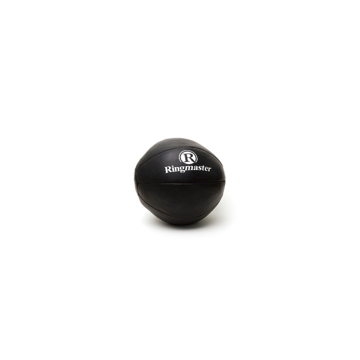 Ringmaster Leather Medicine Ball - Sports Grade