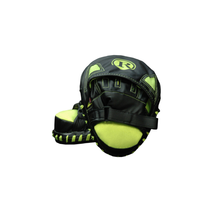 Ringmaster Typhoon Focus Pad Black / Neon Yellow - Sports Grade