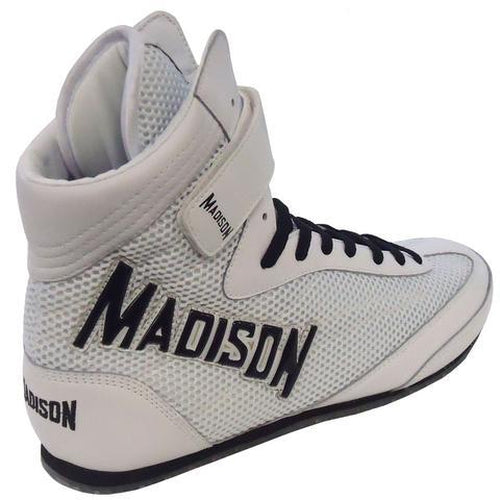 Madison Dominator 2.0 Boxing Boots - White Boxing - Sports Grade