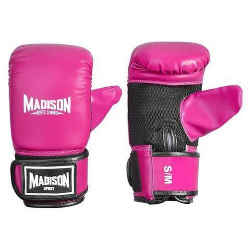 Madison Contender Boxing Mitts - Pink Boxing - Sports Grade