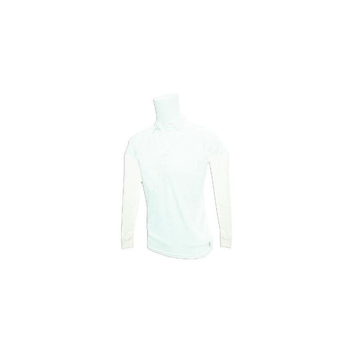 Bas Cricket Shirt White Long Sleeve - Sports Grade