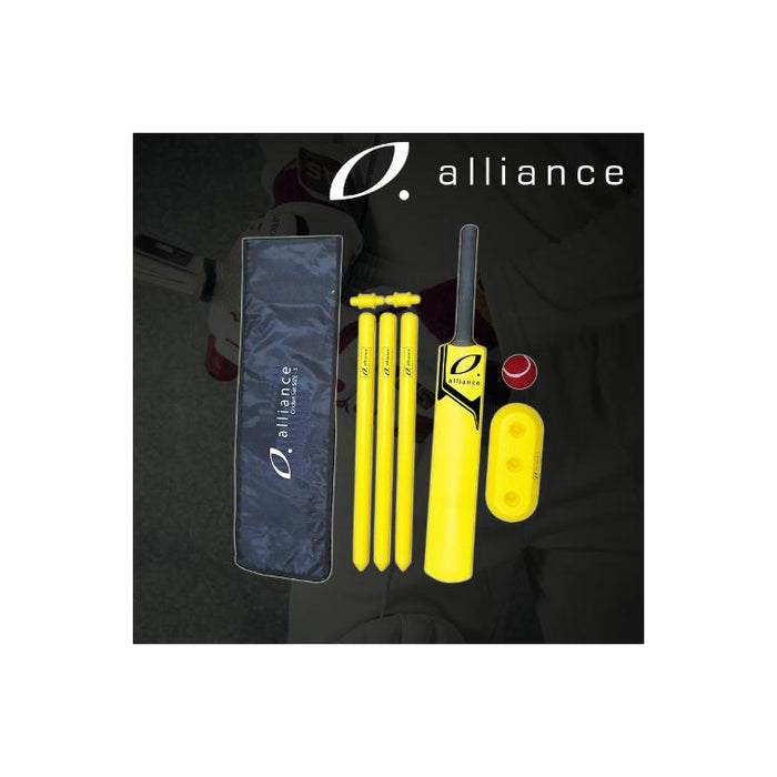 Alliance Cricket Set Plastic - Sports Grade