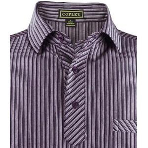 Copley Venice Golf Shirt – Purple - Sports Grade