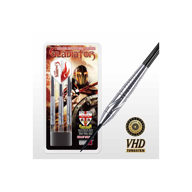 One80 Dart Gladiator Stainless Steel 20g - Sports Grade