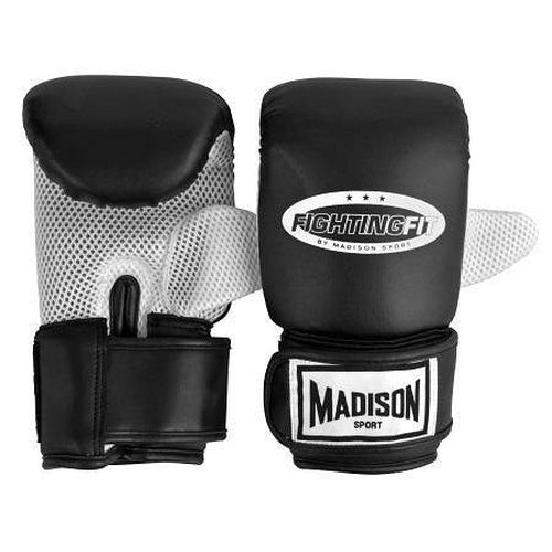 Madison Fighting Fit Training Mitts - Black Boxing - Sports Grade