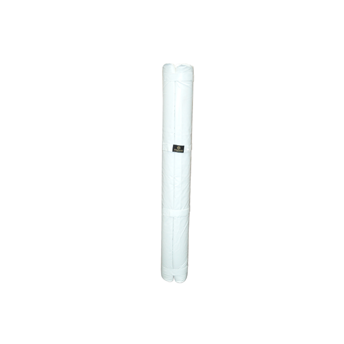 Ringmaster Aussie Rules Goal Post Guard Cylindrical White - 1800mm H - Sports Grade