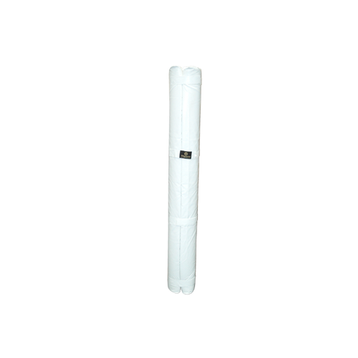 Ringmaster Aussie Rules Goal Post Guard Cylindrical White - 2500mm H - Sports Grade