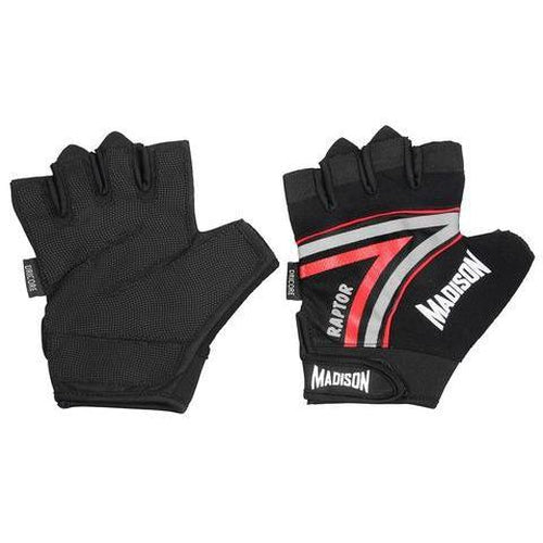 Madison Raptor Mens Fitness Gloves - Red - Sports Grade