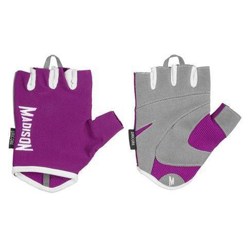 Madison Destiny Womens Fitness Gloves - Purple - Sports Grade